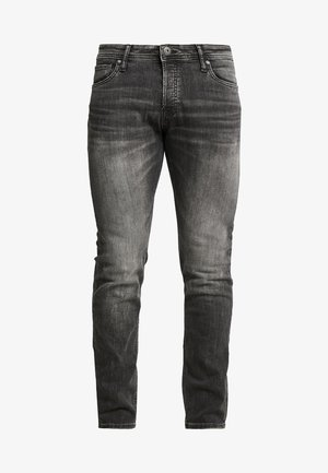 JJIGLENN JJORIGINAL - Vaqueros slim fit - black denim