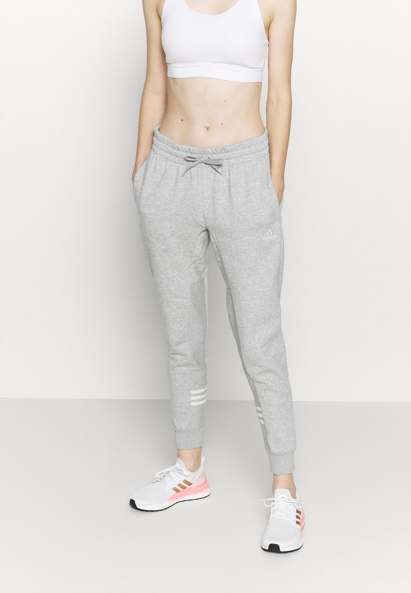 adidas Performance - Pantaloni sportivi - mottled grey