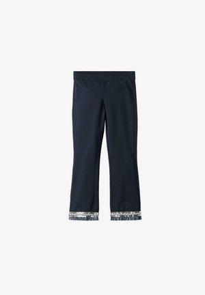 MIT FRANSEN - Leggings - Trousers - blu