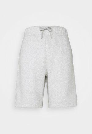 SHORTS - Sports shorts - lightgrey melange