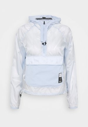 RUN ANYWHERE ANORAK - Sports jacket - isotope blue