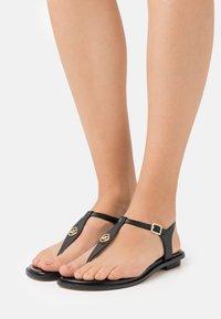 MICHAEL Michael Kors - MALLORY THONG - T-bar sandals - black - 0
