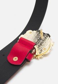 Versace Jeans Couture - VITELLO BELTS - Belt - blood - 2