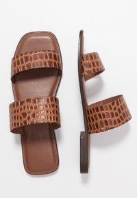 Vero Moda - VMFILO  - Pantofle - brown - 3