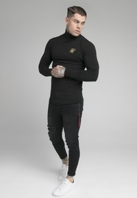 SIKSILK - ROLL NECK - Long sleeved top - black - 1