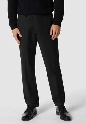 MIT STRETCH-ANTEIL - Suit trousers - schwarz