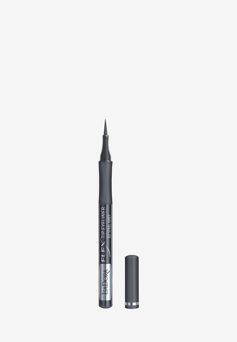IsaDora - FLEX TIP EYELINER - Eyeliner - steel grey