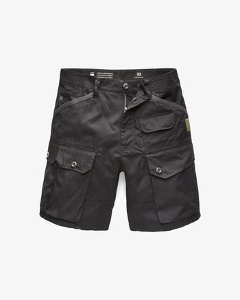 JUNGLE CARGO - Shorts - dk black