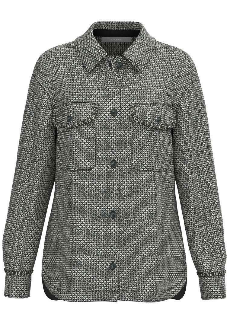 bianca - Long sleeved top - grey
