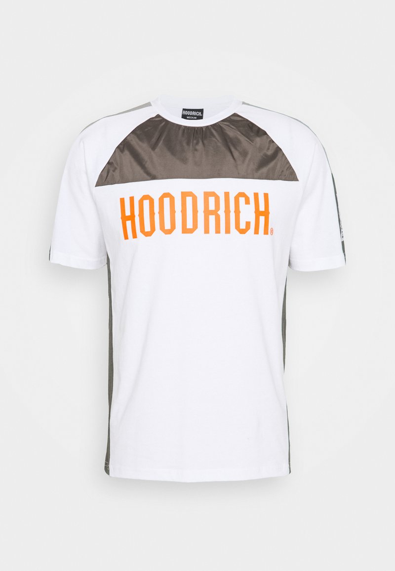 Hoodrich - Print T-shirt - white/grey