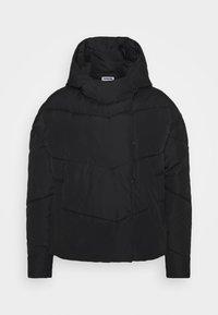 Noisy May Tall - NMWALLY JACKET TALL - Winter jacket - black - 0