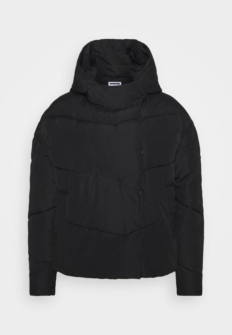 Noisy May Tall - NMWALLY JACKET TALL - Winter jacket - black
