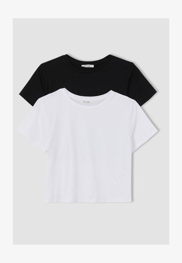 PACK OF 2 - Basic T-shirt - white