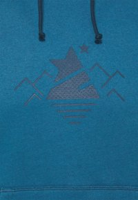 Zimtstern - HOODZ MENS - Hoodie - blue steel/french navy - 2