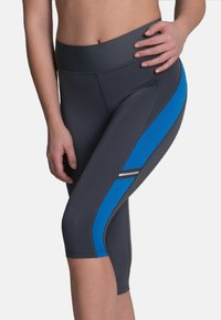 Anita - CAPRI  FITNESS - 3/4 sports trousers - atlantik  anthrazit - 0
