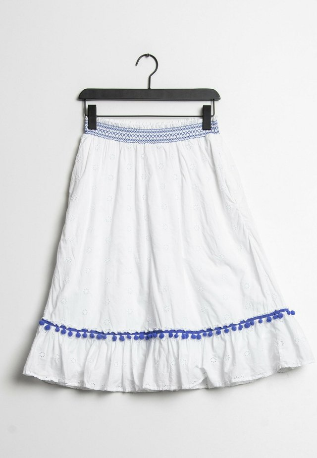 A-lijn rok - white