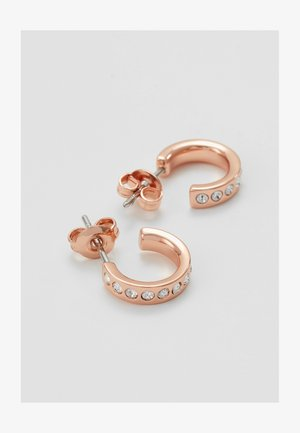 SEENI MINI HOOP HUGGIE EARRING - Earrings - rose gold-coloured