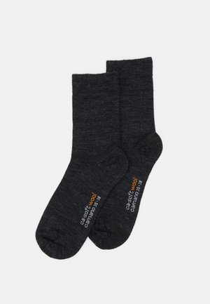 2 PACK - Socks - anthracite melange