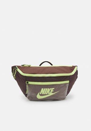 TECH UNISEX - Bum bag - chocolate/brown basalt/light lemon