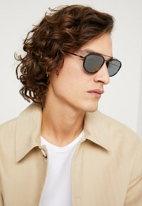 Burberry - Sunglasses - matte black - 1