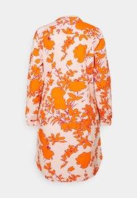 Emily van den Bergh - Day dress - orange/rose - 1