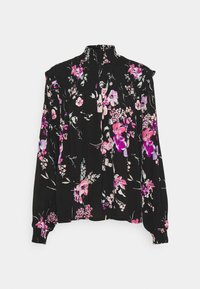 b.young - BYILKA BLOUSE - Long sleeved top - black mix - 0