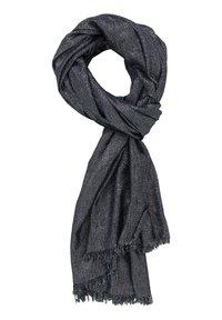 Vera Mont - STOLA IM GLITZER-LOOK - Scarf - dark blue/silver - 0