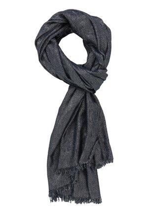 STOLA IM GLITZER-LOOK - Sjaal - dark blue/silver