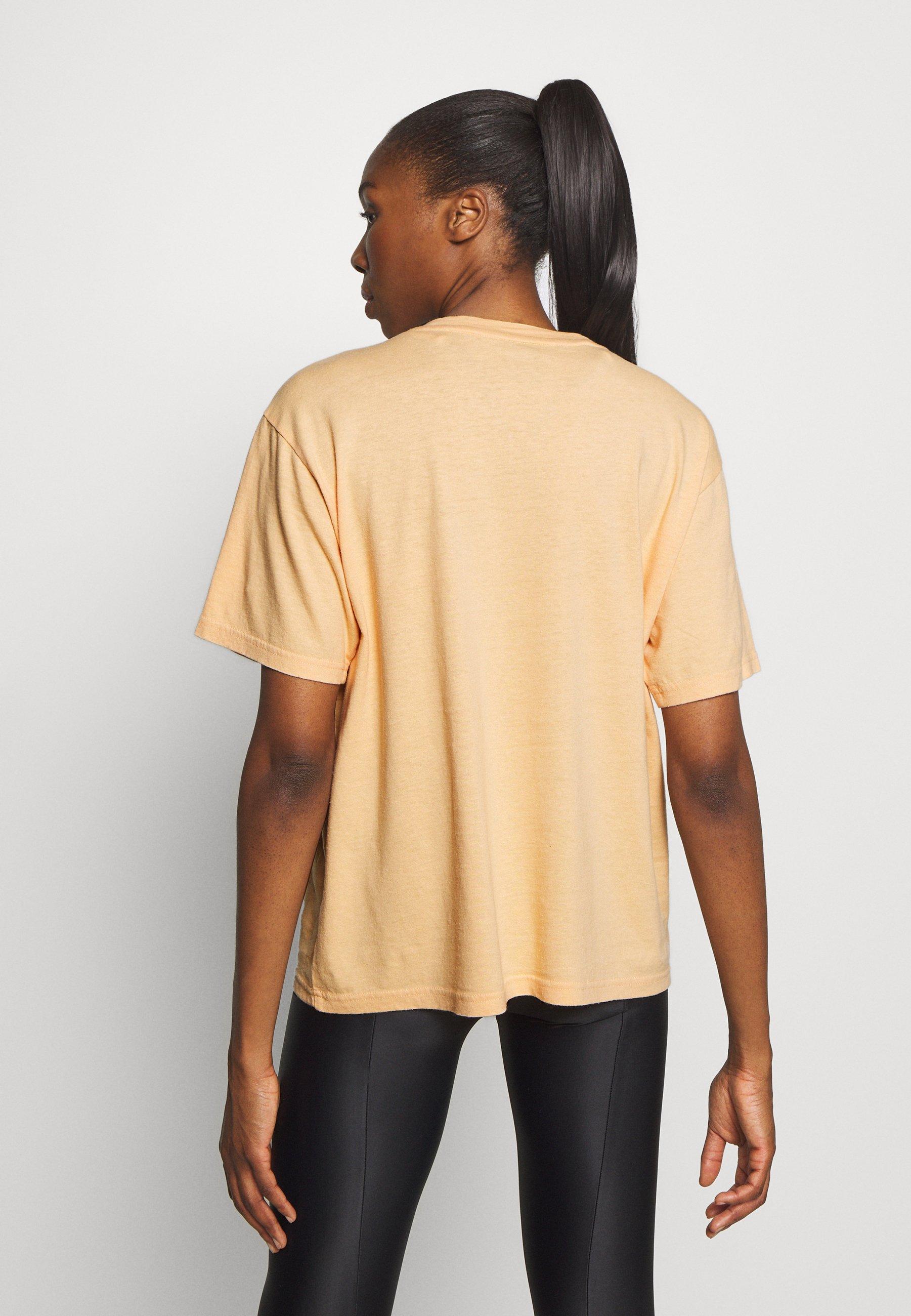 P.E Nation OVERHEAD TEE - Print T-shirt - orange pale 1gnSs