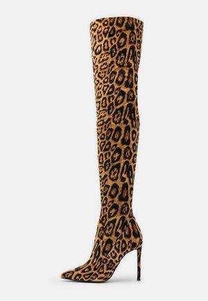VAVA - Boots med høye hæler - brown