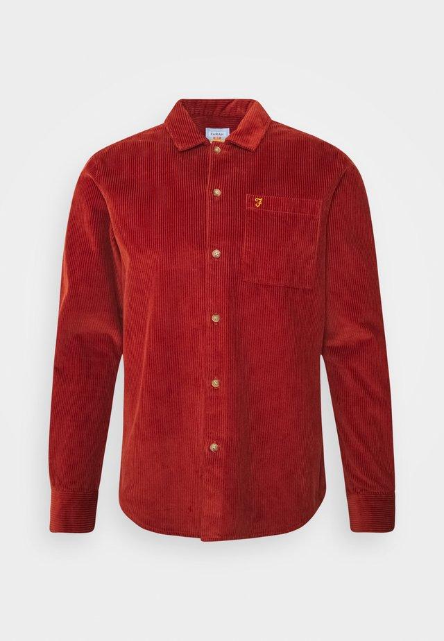 WYMAN - Camicia - russet