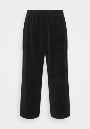 CORIE TROUSERS - Kalhoty - black dark