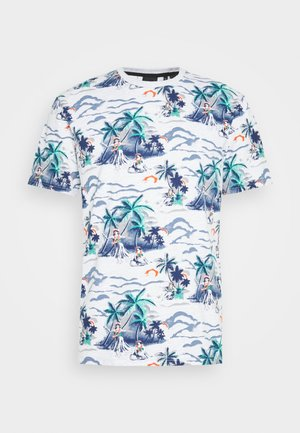 SUPPLY - T-shirt con stampa - ice marl