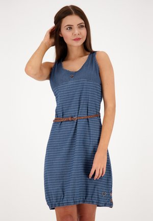 Denim dress - dark denim