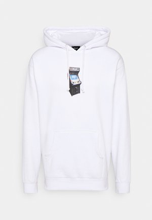 ARCADE HOODIE - Sweatshirt - white