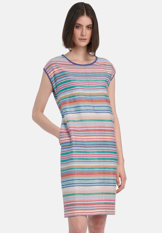 Korte jurk - jeansblau multicolor