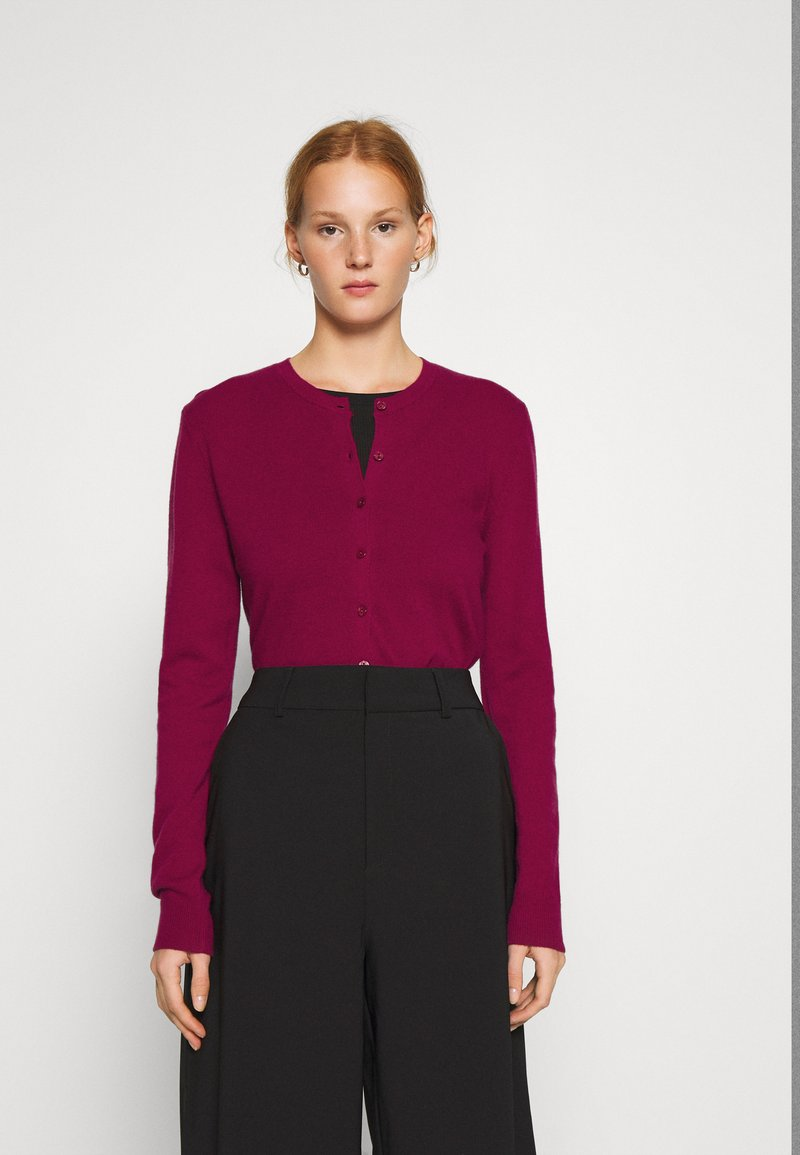 Benetton - Cardigan - burgandy