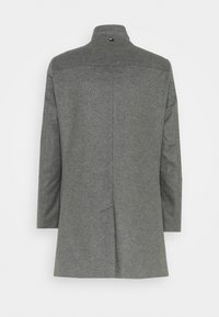 Tommy Hilfiger Tailored - SOLID STAND UP COLLAR COAT - Cappotto classico - grey - 1