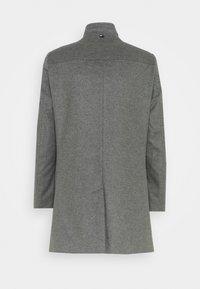 Tommy Hilfiger Tailored - SOLID STAND UP COLLAR COAT - Klassinen takki - grey - 1