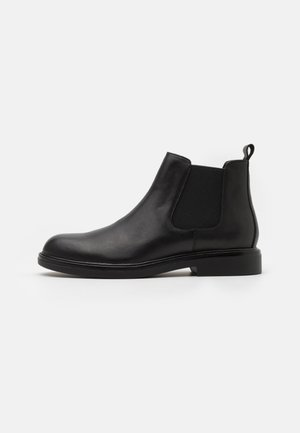 LEATHER - Stiefelette - black