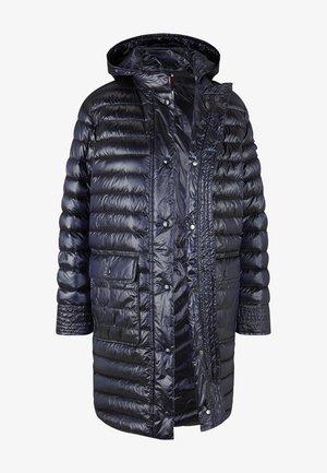 DAUNENMANTEL FLORA - Down coat - navyblau