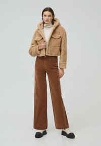 PULL&BEAR - MIT KAPUZE - Winter jacket - brown - 1