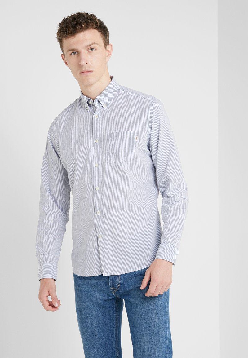 HKT by Hackett - BENGAL - Camicia - white/navy