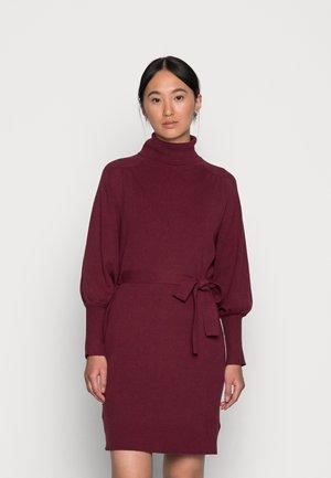 MALENE DRESS - Jumper dress - tawny port