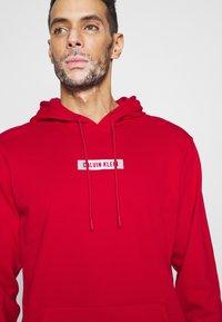 Calvin Klein Performance - HOODIE - Sweatshirt - red - 4
