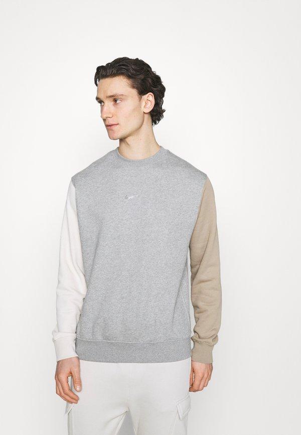 Nike Sportswear CREW - Bluza - dark grey heather/szary Odzież Męska HCBS