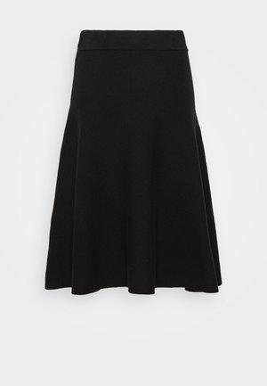 SLFCALI SKIRT - A-line skirt - black