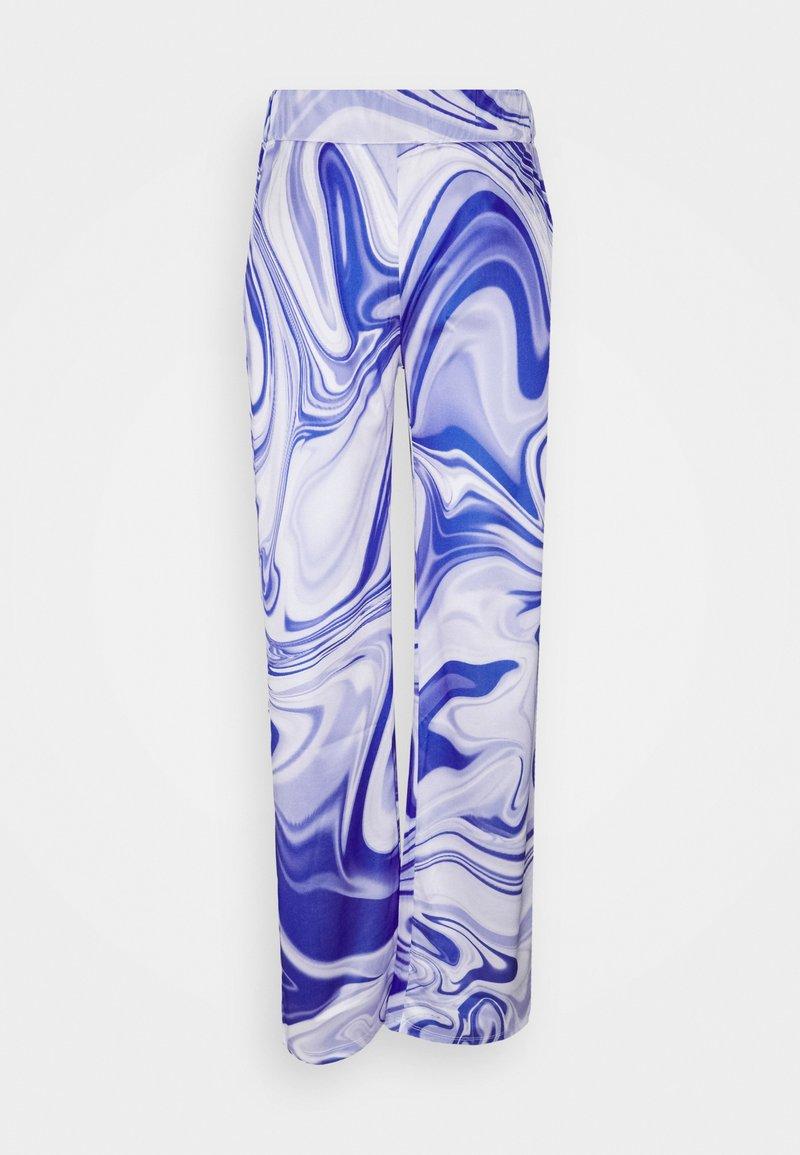 HOSBJERG - ASTA OLIVIA PANTS - Kalhoty - purple liquid