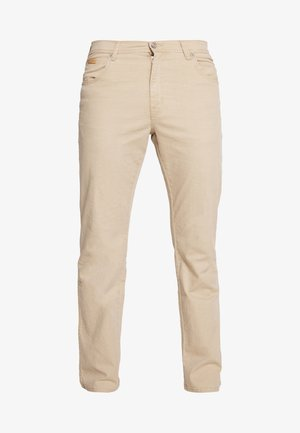 TEXAS - Straight leg jeans - sand