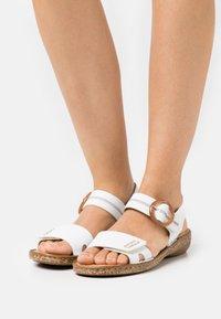 Rieker - Sandals - weiß - 0